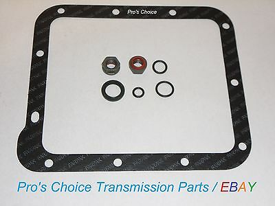 (Shifter Control Lever Linkage Reseal Kit & Pan Gasket--Fits All C4 Transmissions)