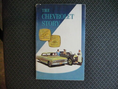 1961 ORIGINAL THE CHEVROLET STORY 80 PAGES EXCELLENT CONDITION