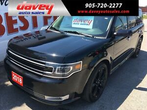 2018 Ford Flex Limited ALL WHEEL DRIVE, SUNROOF, NAVIGATION