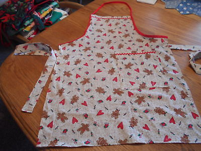 Women's Adult Hand-Crafted Apron for  Kitchen/Art Work/Gardening~Christmas