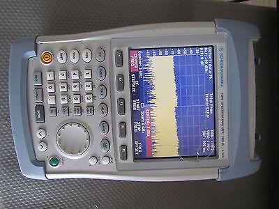 Rohde Schwarz Fsh6 6 Ghz Spectrum Analyzer W Tracking Generator Preamp