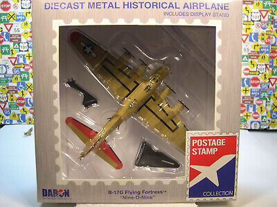 WWII B-17G  FLYING FORTRESS NINE-O-NINE DARON 1:155 SCALE DIECAST DISPLAY MODEL for sale  Forest City