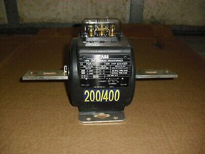 Abb Type Cmf Current Transformer Ratio 200400 5a Bil10kv 60hz Nsv 0.6kv Nos