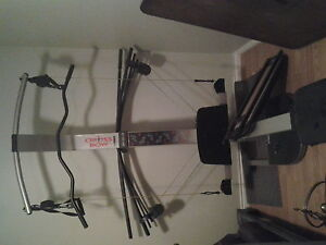 like new;; Weider, Crossbow workout machine