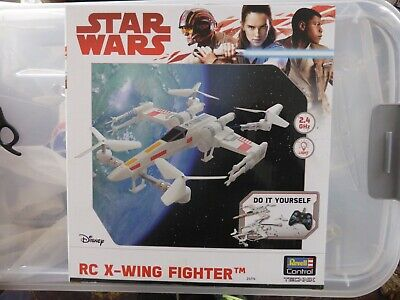 Star Wars RC X-Wing Fighter Radio Controlled Revell Control Technik Model