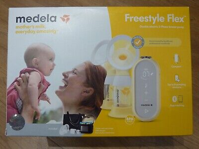 Medela Freestyle Flex: Double Electric Breast Pump, Portable and Re-chargeable