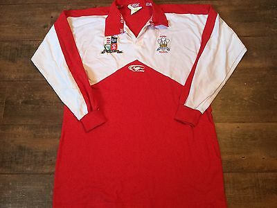 1990s Wales L/s Rugby League Shirt Adults XXL 2XL Jersey