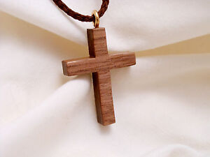 Christian Wooden Pectoral Cross with 30