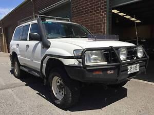 2000 Toyota LandCruiser 100series 4.2L Diesel $15,990 ! Pooraka Salisbury Area Preview
