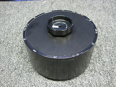 Eppendorf T-60-11 Centrifuge Drum Rotor With Lid Used With 5804 Or 5810