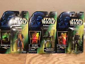 Star Wars POTF Group of 3
