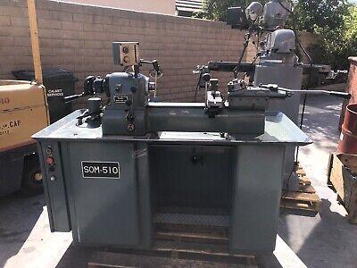 Feeler Second Operation Lathe Som-510 Series Ii Tooling