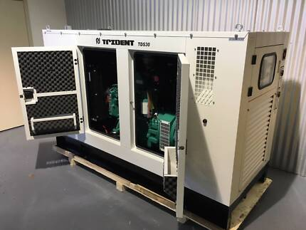 2017 Cummins Engine Generator 45KW / 60KVA 230/415V  72Amps Lonsdale Morphett Vale Area Preview
