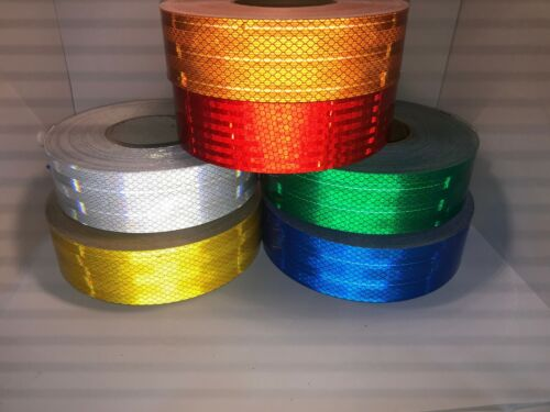 High Intensity Superbrite Type III/IV, Reflective Safety Tape - Six Colors