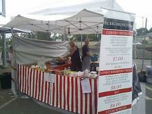 German Sausage and Brekkie Roll Market BusnesStall at Kuraby Shailer Park Logan Area Preview