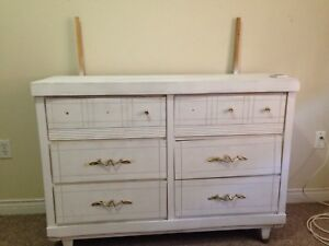 Dresser and Mattress for sale .