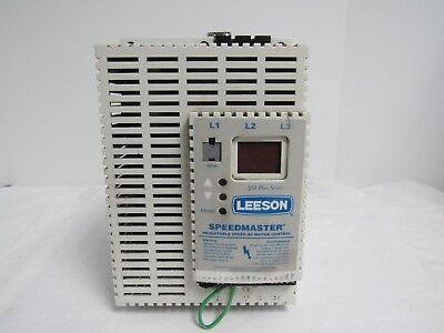 Leeson Speedmaster Adjustable Speed Ac Motor Control 174441.00