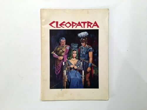 Cleopatra - 1963 Movie Program Presskit - Elizabeth Taylor - Richard Burton