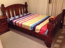 ROYAL BED SUITE - QUEEN BED,TALLBOY & BEDSIDES FOR SALE - URGENT!! Hawthorn Boroondara Area Preview