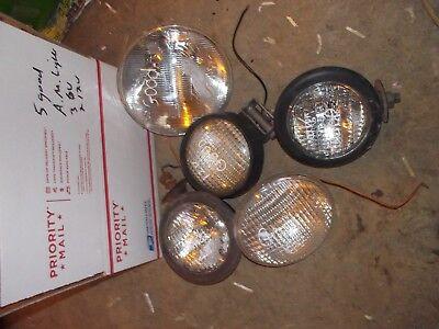 John Deere Farmall Ih Ford Massey Tractor Universal 2 12v 3 6v Lights Light