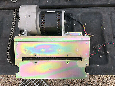 Used Fellowes C-420 Stripcut Paper Shredder Cutter Head Mill Assembly Part