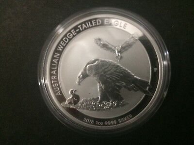 2018 Australian $1 Wedge Tailed Eagle 1oz .999 Silver Bullion Coin From Roll