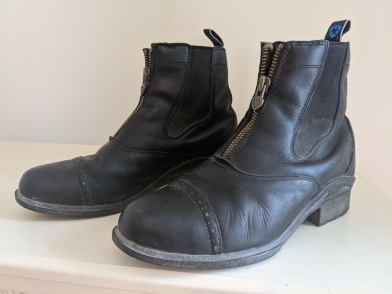 Ariat Paddock Boots  With Zipper