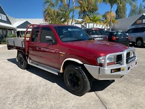 MAZDA BRAVO EXTRA CAB 4X4 TURBO DIESEL MANUAL TRAY BACK  2000 Noosaville Noosa Area Preview
