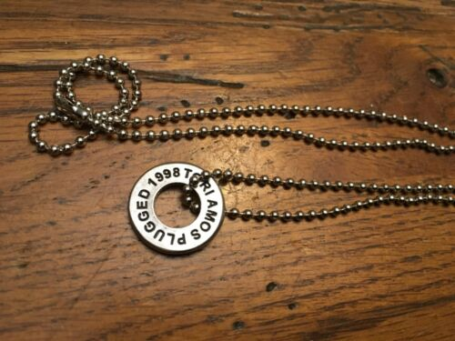 TORI AMOS TOUR  1998 Plugged Raspberry Swirl Girl Necklace