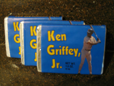1989 ROOKIE KEN GRIFFEY JR CHOCOLATE CANDY BARS BLUE WRAPPER UNOPENED SET OF - Blue Wrapper Chocolate