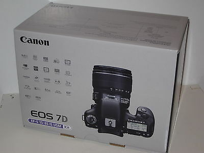 Open Box Canon EOS 7D 18.0 MP Digital SLR Camera - Black (Body Only)