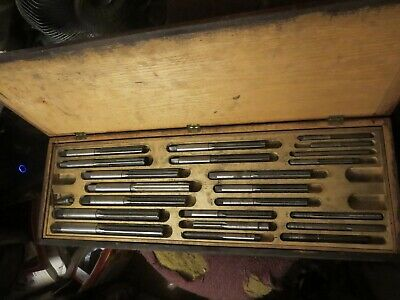 R.t. Co Keystone Reamer Co Heavy Duty Industrial 33 Piece Reamer Set In Case