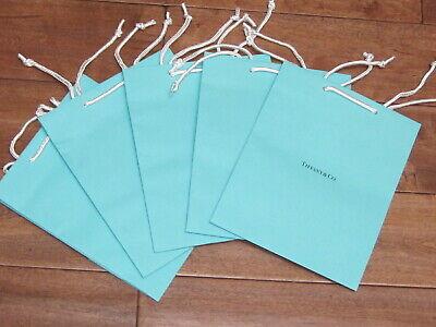 Tiffany Blue Gift Bags (Tiffany & Co Single ONE Blue Shopping Medium Gift Bags 9.75