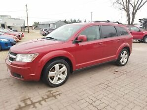 * 2009 DODGE JOURNEY SXT 7 PASSENGER, INSPECTION & WARRANTY SXT, 7 PASSENGER, DVD PLAYER