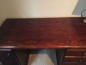 Wooden desk Tempe Marrickville Area Preview