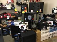 PA System and Stage Lighting Sales and Rentals