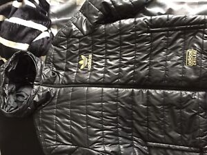 Adidas Gold Chile 62 Full Down Jacket L