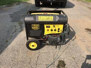 Champion Heavy Duty Generator 6500 W
