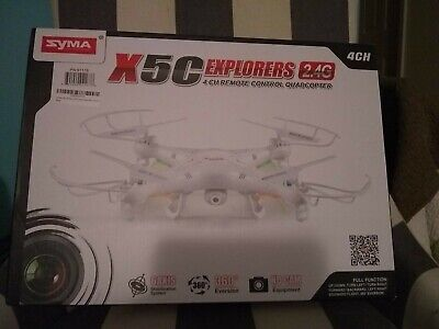 Syma X5C Explorers RC Quadcopter Drone with HD Camera 2.4G 4CH 6-Axis LCD Gyro