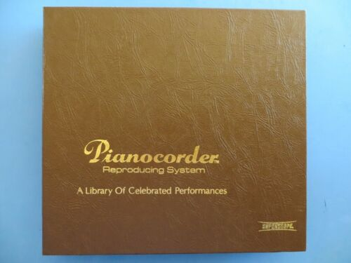 Pianocorder Complete Cassette Set Keyboard Immortals In Recital 1, Vol. 7 Tapes