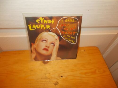 CYNDI LAUPER  Picture Sleeve  Demo 45 HOLE IN MY HEART from 1988