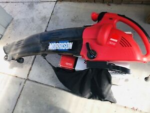 Morrison Electric 2500 powerful Blower & Vacuum Melbourne CBD Melbourne City Preview