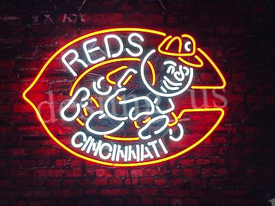 "New Cincinnati Reds Neon Sign 24""x20"" Ship From USA"