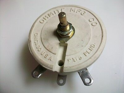 Ohmite 7500 Ohm 100 Watt Rheostat