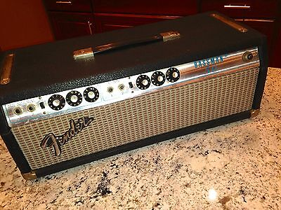 1973   Vintage Fender Silverface Bassman 50 Tube Amplifier