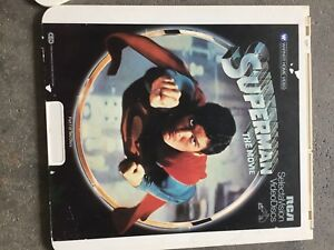 SuperMan video disc