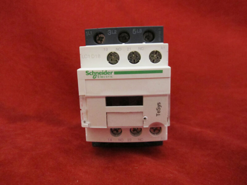 Schneider/Telemecanique LC1D18F7 Magnetic Contactor AC110V