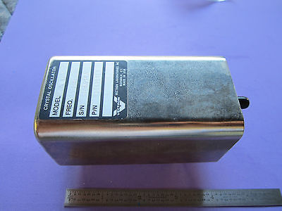 Vectron Quartz Crystal Oscillator 5 Mhz Frequency Calibrator Standard