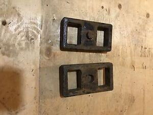 Dodge RAM HD lift blocks