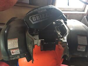 Yamaha grizzly 660 green plastic